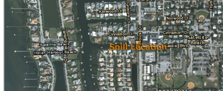 Spill Location